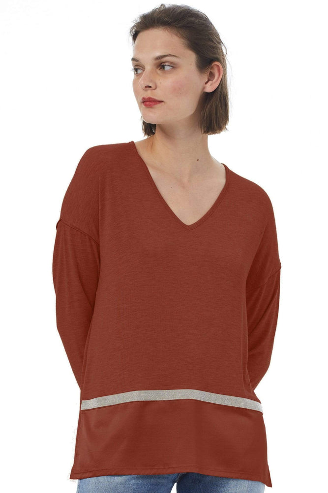 Ateliers de la Maille Tops Doris Top in Caramel