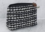 Make Up Bag in Scallop Design