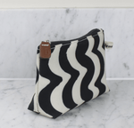 Make Up Bag in Wave Design