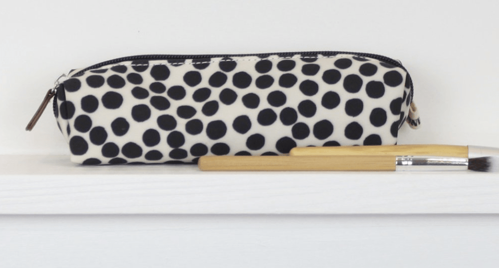 Pencil Case in Spot Design