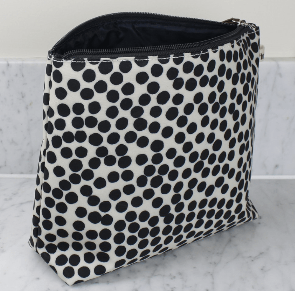 Tall Wash Bag in Spot Design