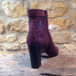 Chie Mihara Footwear Abby Snow Grape burgundy Boot