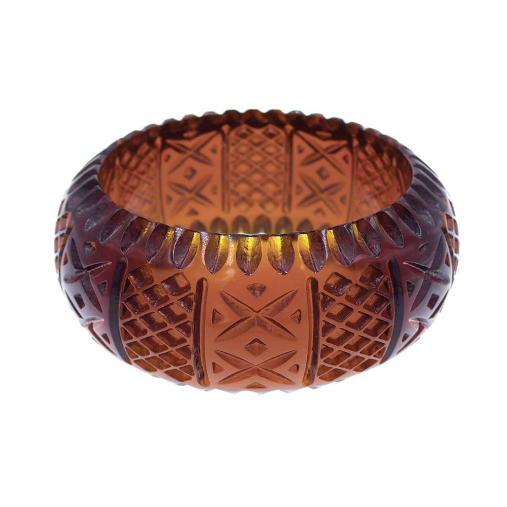 Frosted Bangle Amber