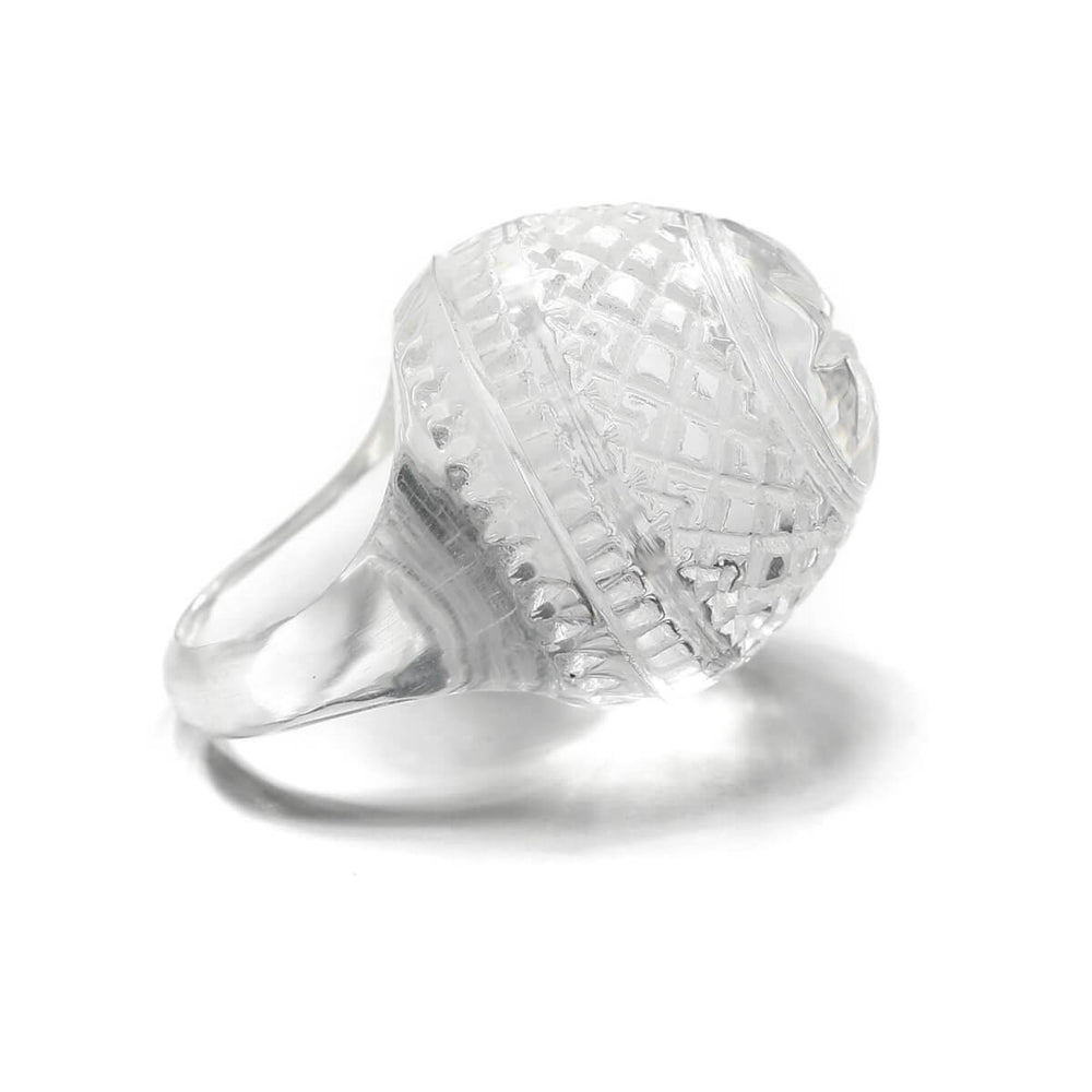 Dome Ring in Clear