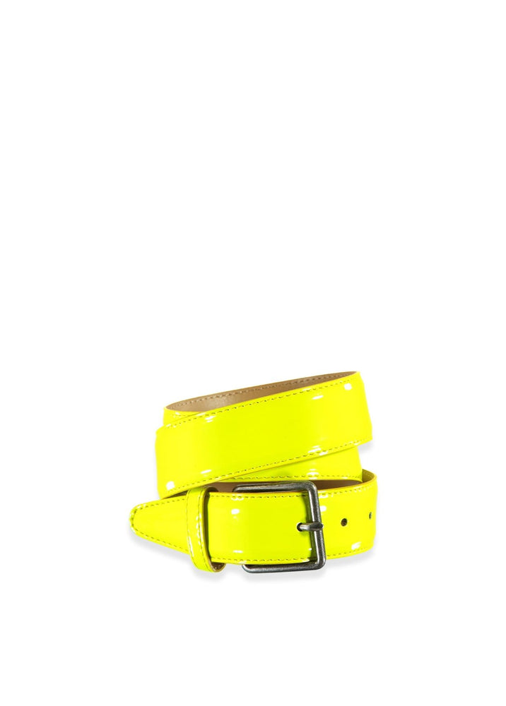 "Essentiel Antwerp Accessories 85CM WAIST (33"") / LIME GREEN Shabu Belt"