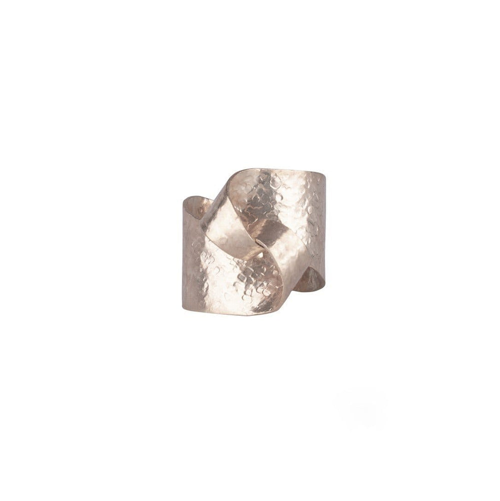 Silver Curve Wrap Ring