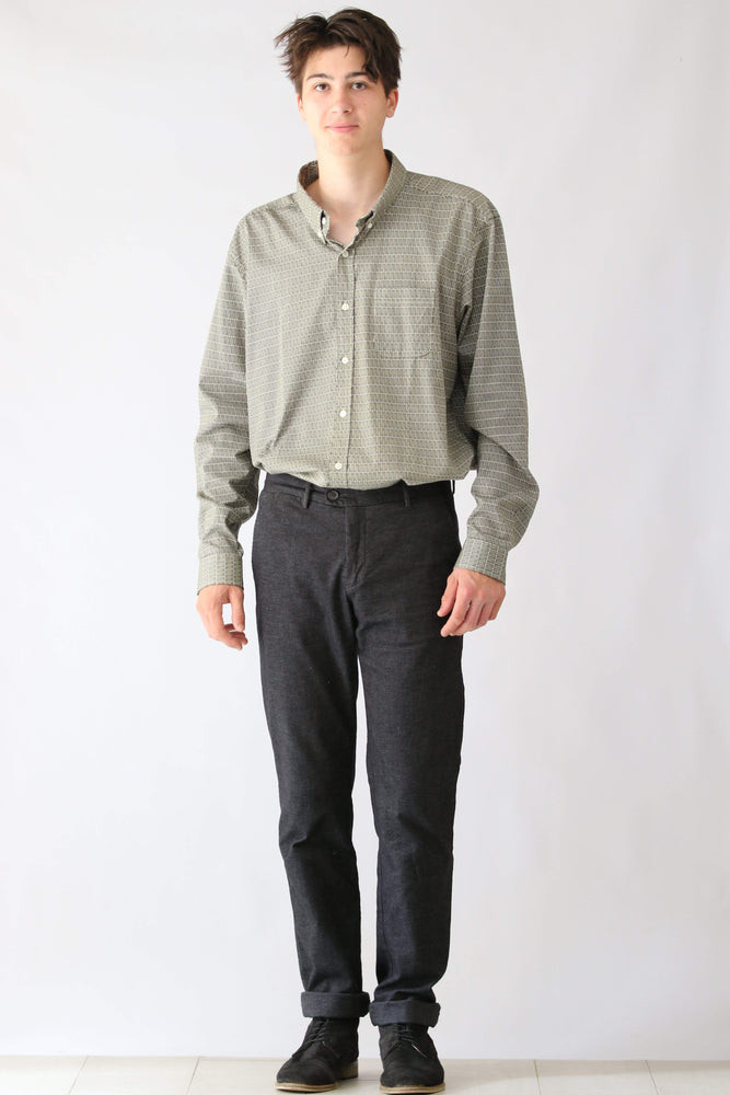 Tobby Trousers in Grey Twill