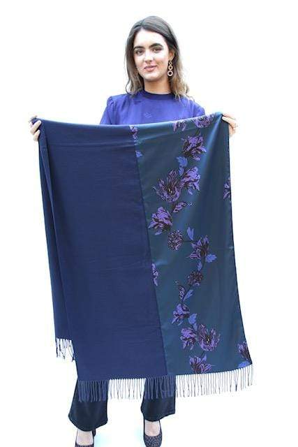 iBLUES Accessories Katai Scarf in Cornflower Blue