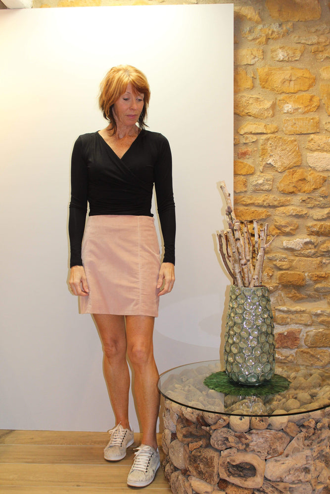 Cappero Skirt in Cipria
