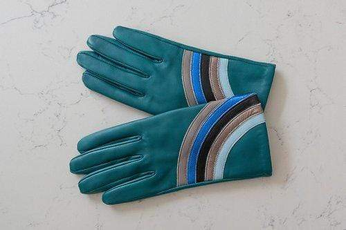 Green Rainbow Gloves