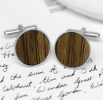 Windsor Cufflinks in Sterling Silver
