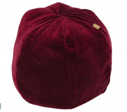 Morgan Wright Home ONE / RUBY RED Velvet Ballroom Cushion Ruby Red