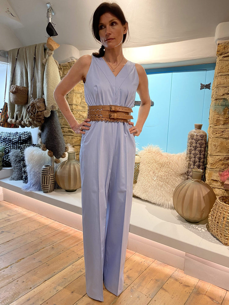 Jumpsuit in Pale Blue