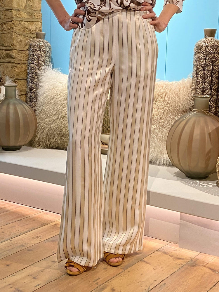 Pennyblack Trousers Trousers in Vanilla Stripes