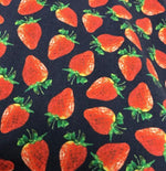 SAND - Mens Mens Shirts Navy Shirt with Strawberry Print