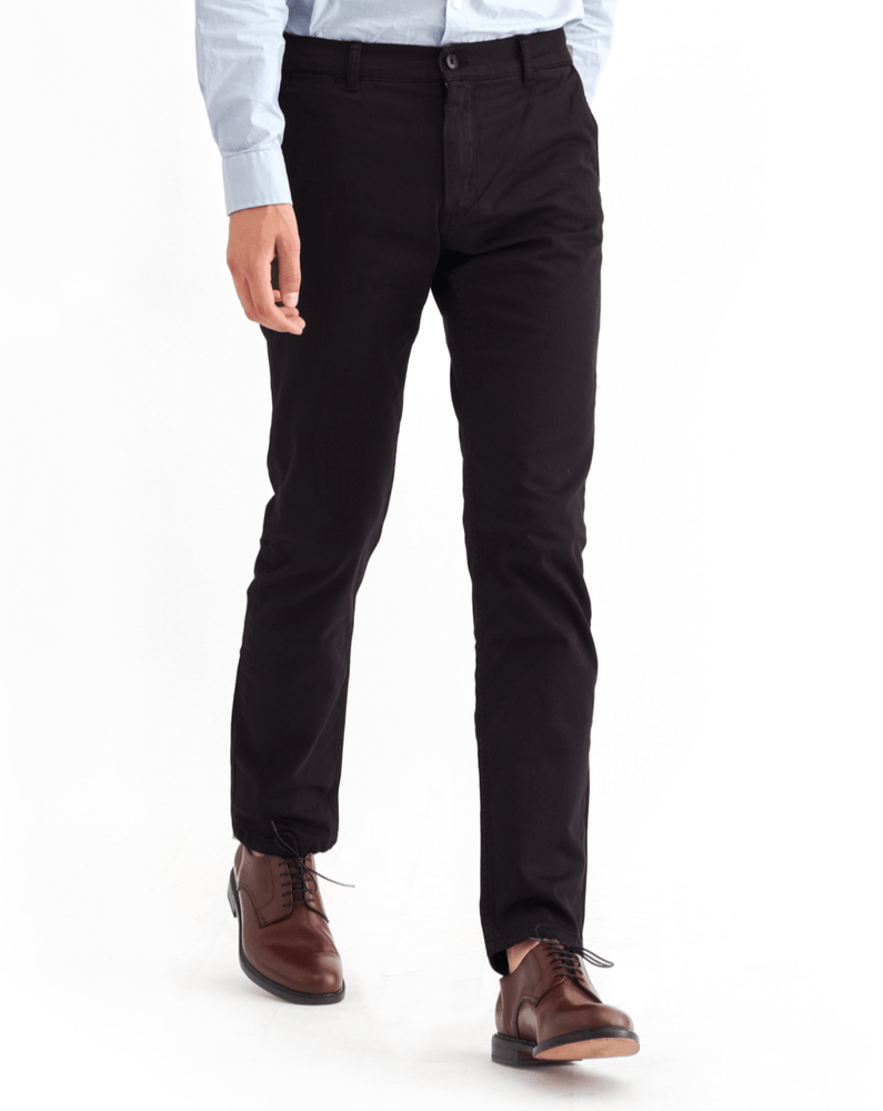 Adan Chinos in Black