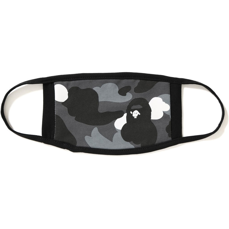 Bape Face Mask - Black Camo-*