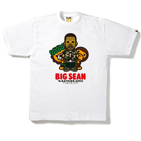Bape Baby Milo x Big Sean Tee - White-*