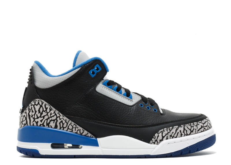 Air Jordan 3 Retro - Sport Blue - 136064007-*