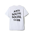 Anti Social Social Club Tee - White w/ Black - CopvsDrop