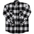 Anti Social Social Club Flannel-Black W/ Purple-*