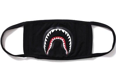 Bape Shark Facemask - Black - CopvsDrop