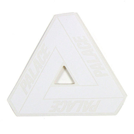 Palace Tri Ferg Sticker - White - CopvsDrop