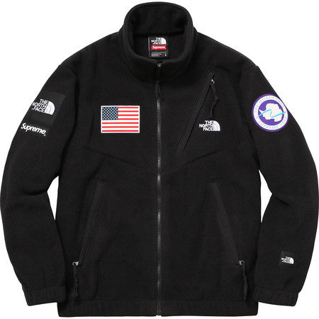 Supreme Polartec Transant Fleece Urban Explore - Black - CopvsDrop