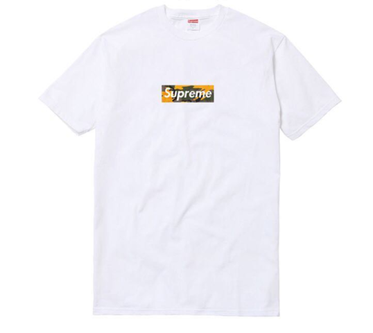 t shirt box logo supreme