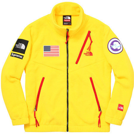 Supreme Polartec Transant Fleece Urban Explore - Yellow - CopvsDrop