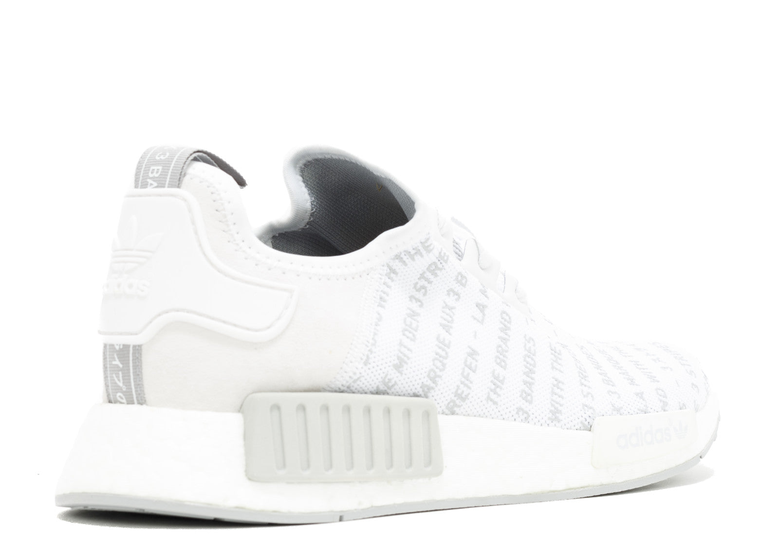 4ac7ceb9fb2 NMD R1 Three Stripes White Black Sneakers Huge selection and amazing  prices. Sneakersnstuff yeezy zebra raffle.