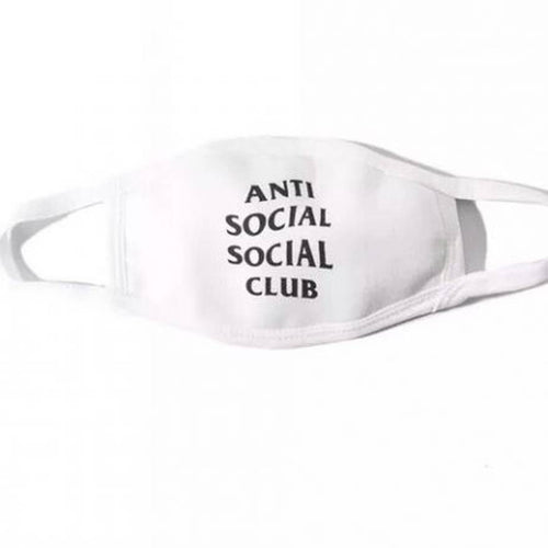 Anti Social Social Club Facemask - White