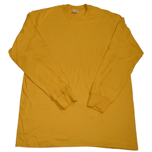 Supreme Blank Long Sleeve - Mustard-*