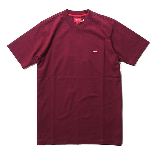 Supreme FW14 Small Box Tee - Burgundy