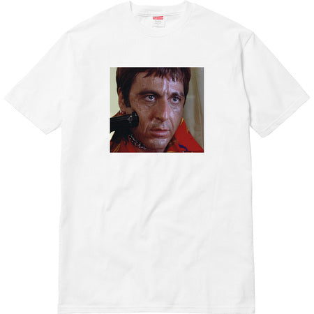 Supreme Scarface Shower Tee - White -*