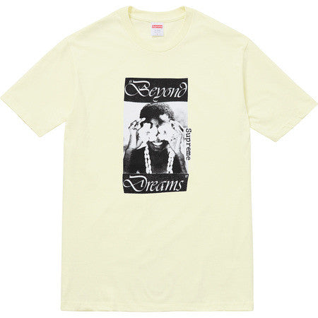 Supreme Dreams Tee - Pale Yellow - CopvsDrop