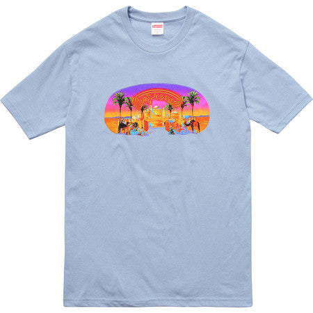 Supreme Mirage Tee - Light Blue