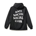 Anti Social Social Club Mak Anorak - Black w/ White