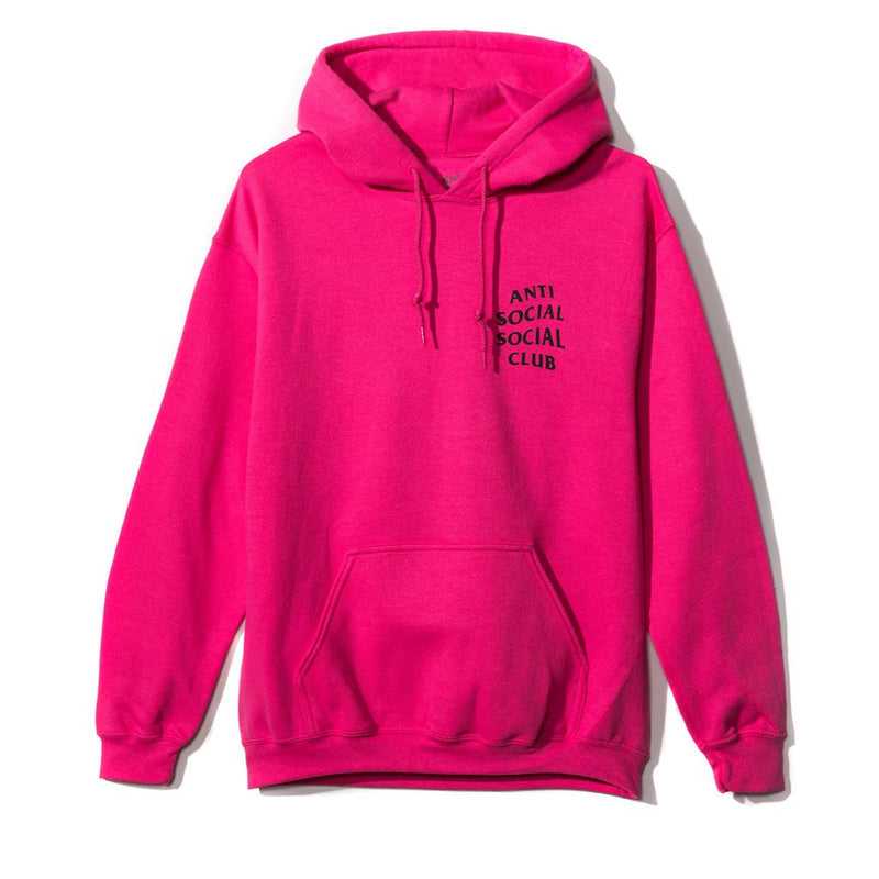 Anti Social Social Club Heliconia Hoodie - Hot Pink
