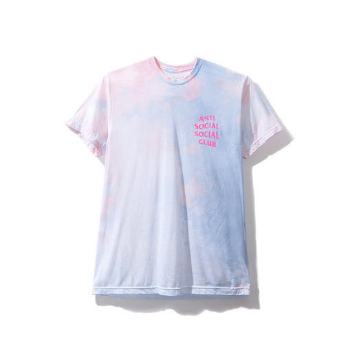 Anti Social Social Club LSD Green Tee - Pink Letters