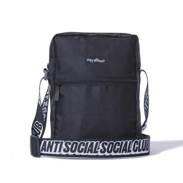 Anti Social Social Club Shoulder Bag -  Black