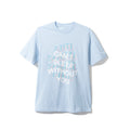 "Anti Social Social Club ""Back Pain"" Tee - Baby Blue W/ White"