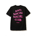 Anti Social Social Club Playboy Tee - Black-*