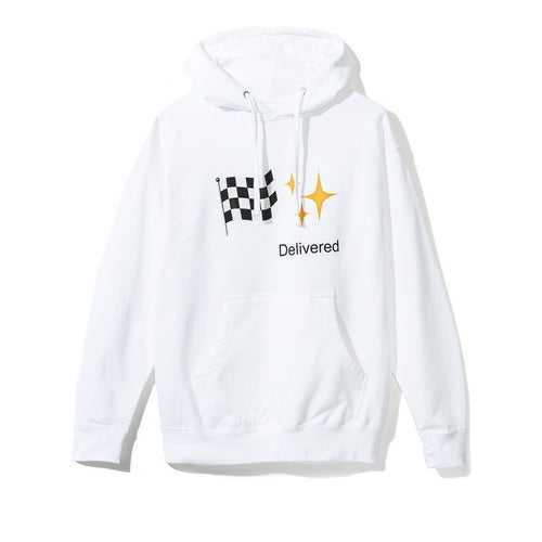 Anti Social Social Club Delivered Hoodie - White