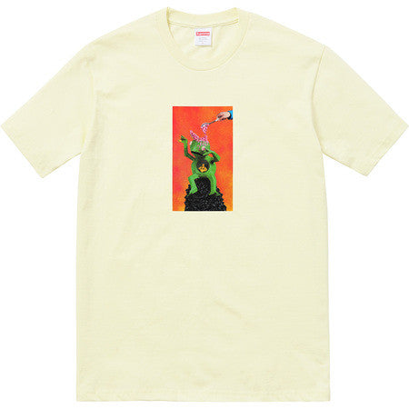 Supreme Mike Hill Brains Tee - Pale Yellow