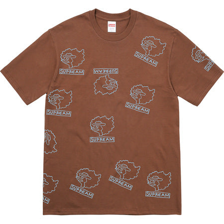Supreme Gonz Head Tee - Brown - CopvsDrop