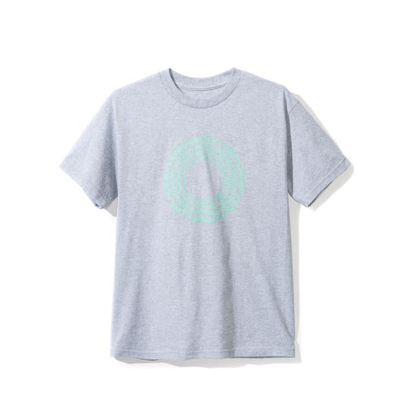 Anti Social Social Club Forever and Ever Tee - Grey w/ Teal