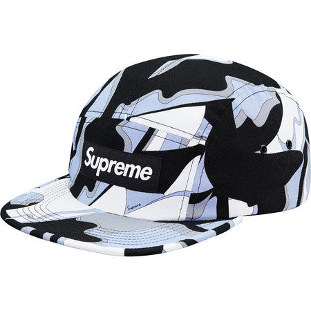 Supreme Abstract Camp Cap - Black - CopvsDrop