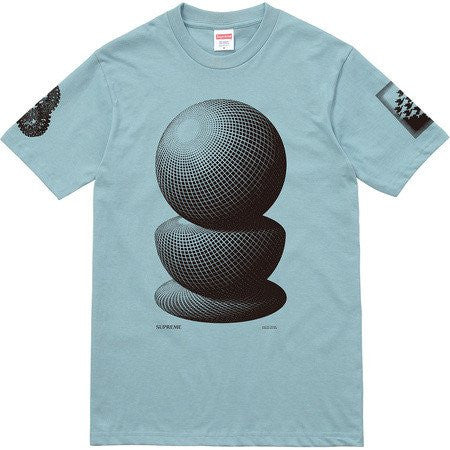 Supreme M.C Escher Three Spheres Tee - Slate