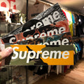 Supreme Box Logo Sticker Protective Sleeve - Set of 10